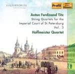 Streichquartette für den Hof von St.Petersburg Vol.3