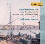 Streichquartette für den Hof von St.Petersburg Vol.2