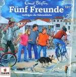 Fünf Freunde verfolgen die Fahrraddiebe Cover
