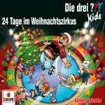 24 Tage im Weihnachtszirkus (Ton) Cover