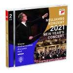 Neujahrskonzert 2021(2CD) Cover