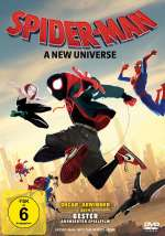 Spider-Man: A new Universe (DVD) Cover