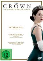 The crown - Die komplette zweite Season (DVD) Cover