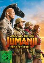 Jumanji - the next Level Cover