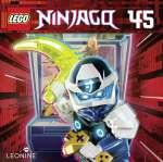 LEGO-Ninjago 45 (Hörbuch-CD) Cover