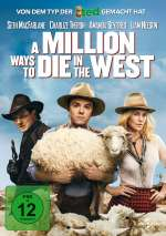 A Million Ways to Die in the West Cover