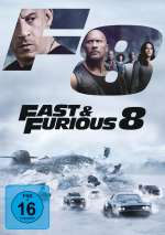 F8 - Fast & Furious 8 Cover
