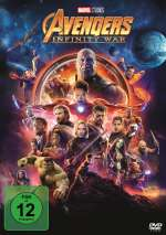 Avengers Invinity War (DVD) Cover