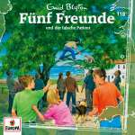 Fünf Freunde und der falsche Patient (1CD) Cover
