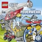 Lego City 16 : Feuerwehr - Brandgefährlicher Einsatz Cover