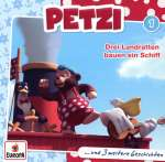 Petzi drei Landratten bauen ein Schiff Nr.1 Cover