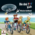 Die drei ??? Kids : Mission Goldhund (1 CD) Cover