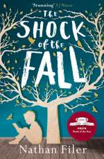 The shock of the fall / Cover