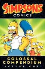 Simpsons comics  Cover