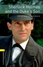 Sherlock Holmes and the Duke's son / Cover