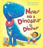 Never ask a dinosaur to dinner Cover