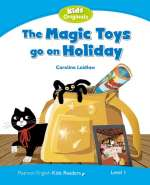 The magic toys go on holiday Cover