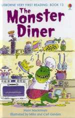 The monster diner Cover