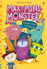 Max und die Mini-Monster; Monster-Chaos in der Schule;  Cover