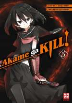 Akame ga KILL! 05 Cover