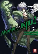 Akame ga KILL! 07 Cover