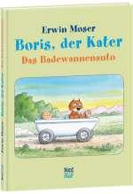 Boris, der Kater Das Badewannenauto Cover