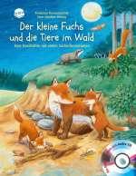 Der kleine Fuchs und die Tiere im Wald Cover