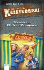 Krach im Zirkus Zampano / Cover