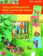 Tiere und Pflanzen im Wald und auf der Wiese Cover