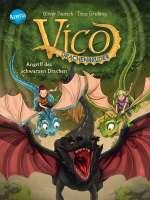 Vico Drachenbrüder - Angriff des schwarzen Drachen Cover