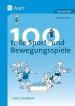 100 tolle Sport- und Bewegungsspiele Cover