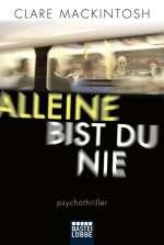 Alleine bist du nie (TB) Cover