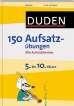 Duden, 150 Aufsatzübungen Cover