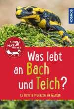 Was lebt an Bach und Teich? Cover