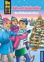 Die drei !!! Adventskalender - das Weihnachtsrätsel Cover