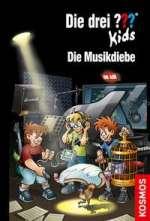 Die Musikdiebe (Die drei Fragezeichen Kids 77) Cover