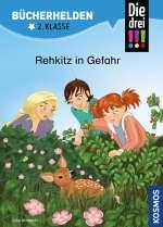 Die drei !!!, Bücherhelden 2. Klasse, Rehkitz in Gefahr Cover