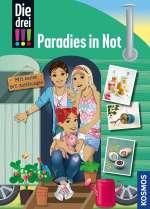Die drei !!! : Paradies in Not Cover