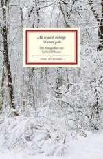 »Als es noch richtige Winter gab« Cover