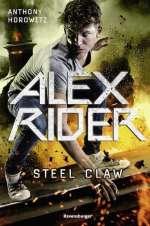 Alex Rider Steel Claw Cover