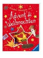 Kinder basteln für Advent und Weihnachten Cover