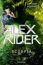 Alex Rider- Scorpia Cover