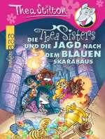 Die Thea Sisters und die Jagd nach dem blauen Skarabäus Cover