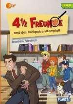 4 1/2 Freunde und das Juckpulver-Komplott Cover