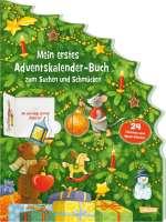 Mein erstes Adventskalender-Buch zum Suchen und Schmücken Cover