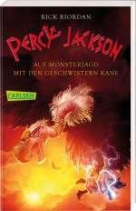 Percy Jackson - Auf Monsterjagd mit den Geschwistern Kane Cover