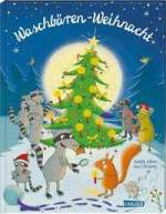 Waschbären-Weihnacht Cover