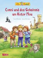 Conni und das Geheimnis um Kater Mau (Bb) Cover