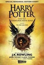 Harry Potter und das verwunschene Kind - Teil eins und zwei Cover