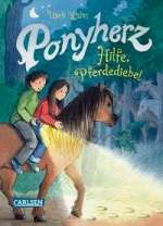 Ponyherz : Hilfe, Pferdediebe! Cover